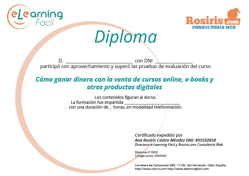 Diploma de muestra
