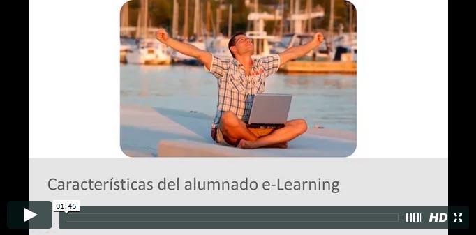 Las explicaciones del curso elearning - teleformación son el vídeo
