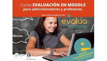 Cómo Evaluar en Moodle. Curso administración. Curso docentes.