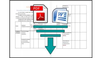 Herramienta de autonálisis profesional del tutor-formador (PDF + Word Descargables)