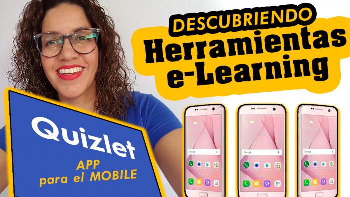 Quizlet APP para el móvil crear actividades educativas