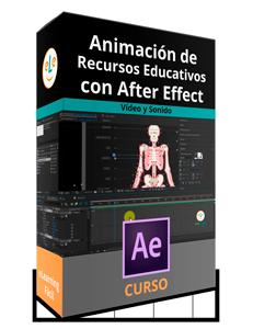 ¡Nuevo Curso! para animar recursos educativos utilizando Adobe After Effect