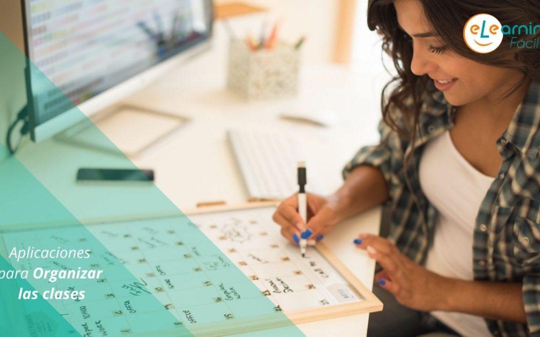 Aplicaciones para organizar las clases
