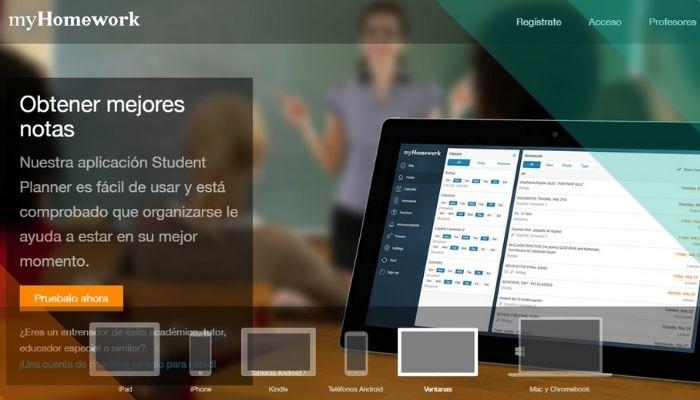 Aplicacion de planificación para estudiantes