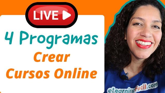 4 Programas para Crear Cursos Online de Forma Profesional (herramientas de autor)
