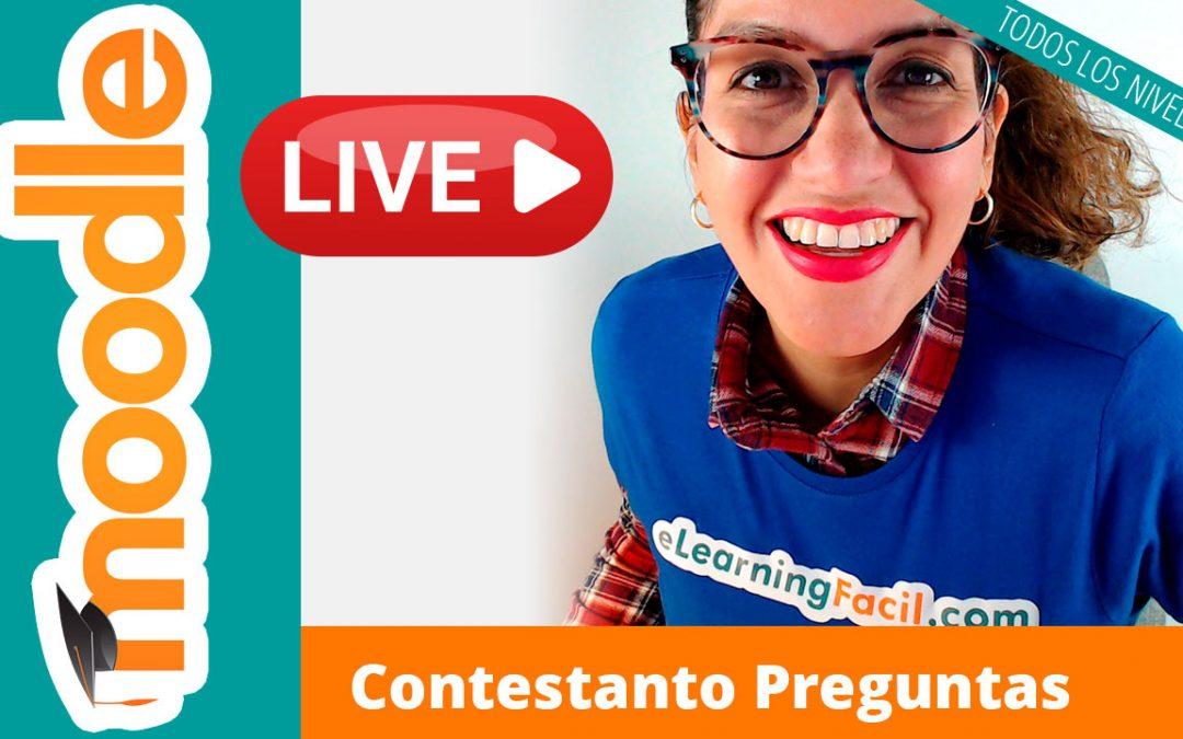 Resolviendo preguntas de Moodle [YouTube Live]
