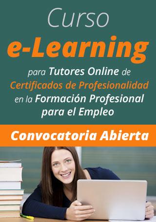 Curso e-Learning Tutores Certificados Profesionalidad SEPE