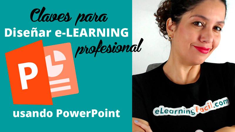 Claves de diseño para crear contenidos e-Learning con Power Point