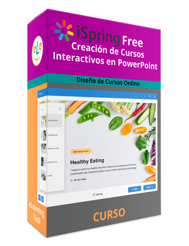 Curso iSpring Gratis Creación de Cursos Interactivos en PowerPoint