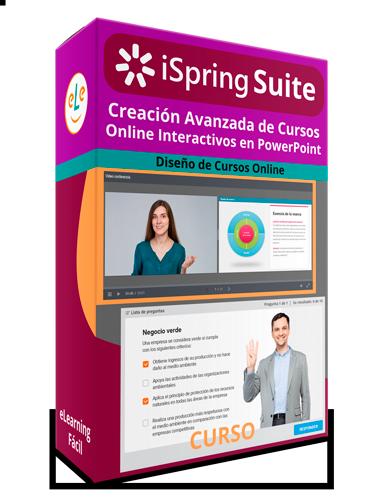 Curso iSrping Suite Creación Avanzada de Cursos Online Interactivos en PowerPoint