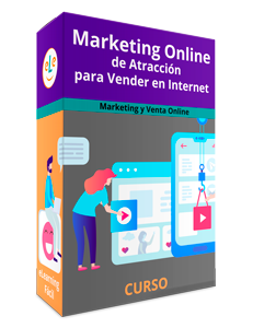 Curso Marketing Online de Atracción para Vender en Internet
