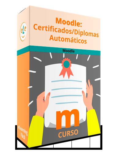 Curso Moodle Certificados Diplomas Automáticos