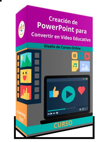 Curso Creación de PowerPoint para Convertir en Vídeo Educativo