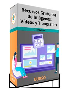 Curso Recursos Gratuitos de Imágenes, Vídeos y Tipografías