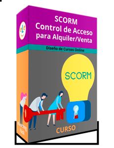 Curso Control de SCORM de cursos para alquiler y venta