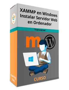 XAMMP en Windows Instalar Servidor Web en Ordenador [Moodle y WordPress]