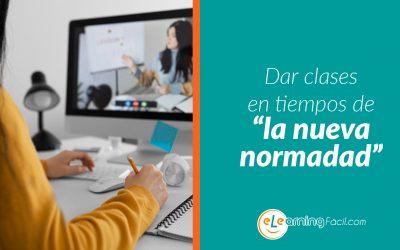 """Dar clases online en tiempos de la """"nueva normalidad"""""""