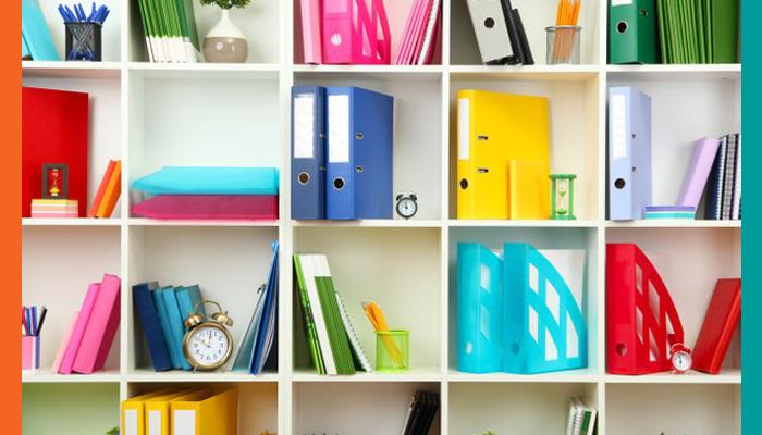Organizar material de clases