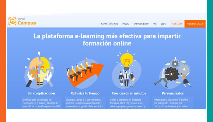 Plataformas de Aprendizaje en Línea: Evolmind