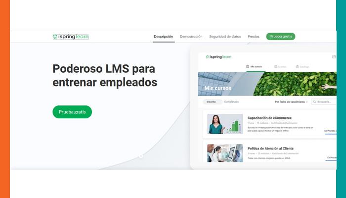 Plataformas de Aprendizaje en Línea: iSpring Learn