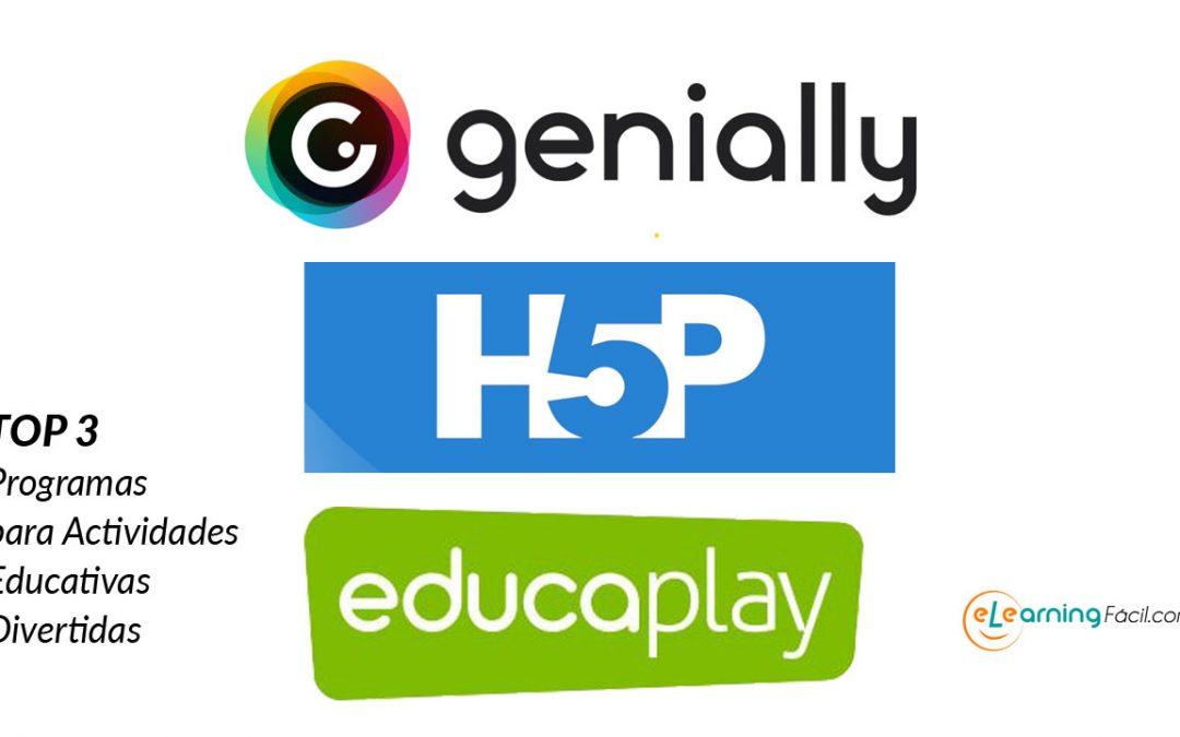 ? TOP 3 Programas para Actividades Educativas Divertidas