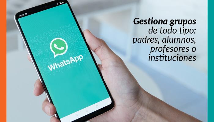 WhatsApps para dar clases