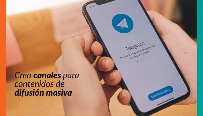 Telegram para dar clases