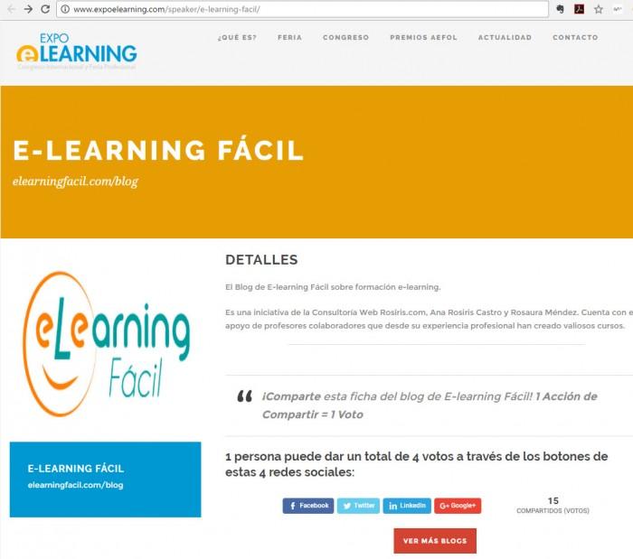 Mejores blog de elearning en Español