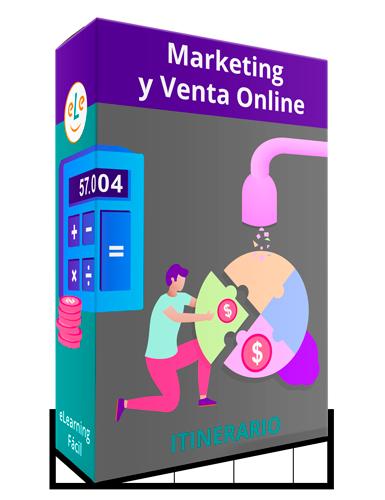 Itinerario Cursos Marketing y Venta Online