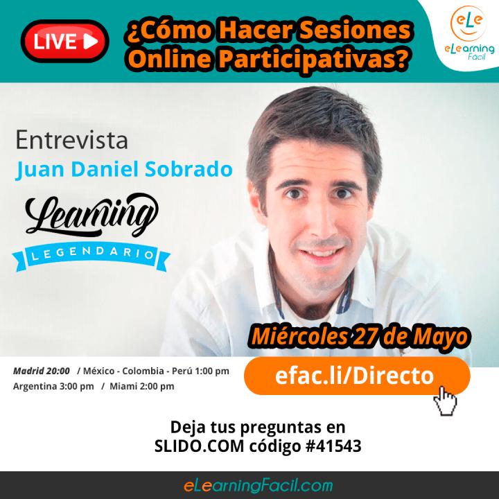 Learning Legendario. Juan Daniel Sobrado
